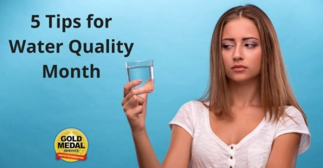 Top 5 Tips For National Water Quality Month